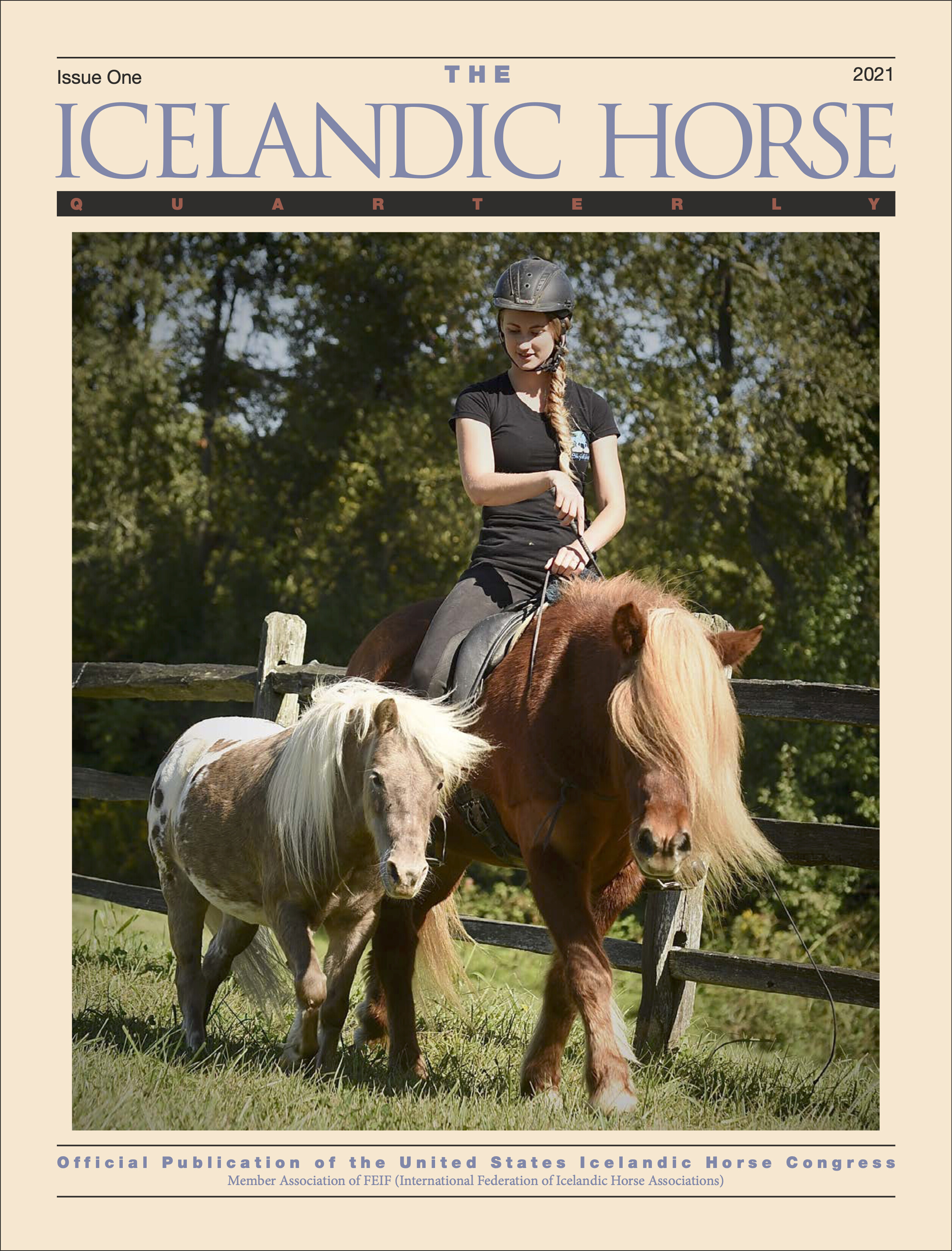 The Icelandic Horse Quarterly Issue One 2021